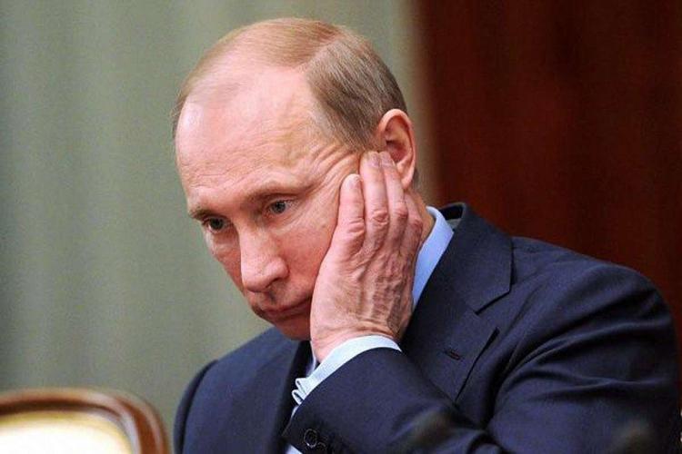Путин испуган