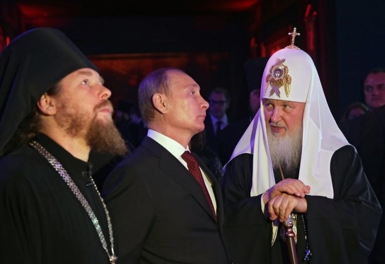 Митрополит Тихон, Путин и патриарх Кирилл