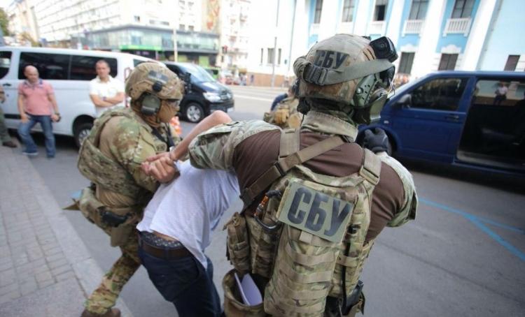 захват заложников в Киеве