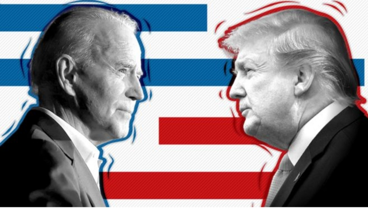 Байден и Трамп