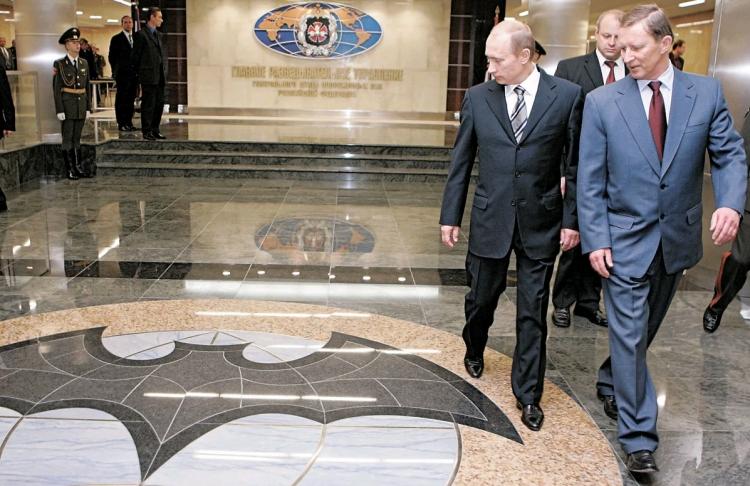 ГРУ и Путин