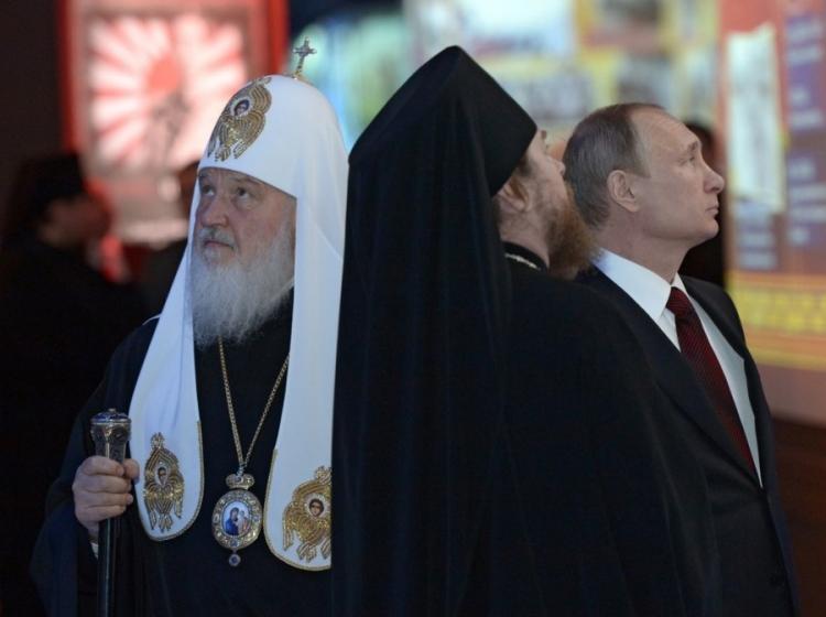 Кирилл Тихон Путин