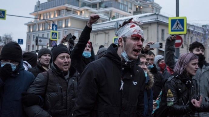 протест в России