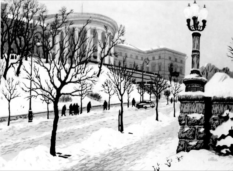 Київськийінститут шляхетних дівиць (Жовтневий палац)